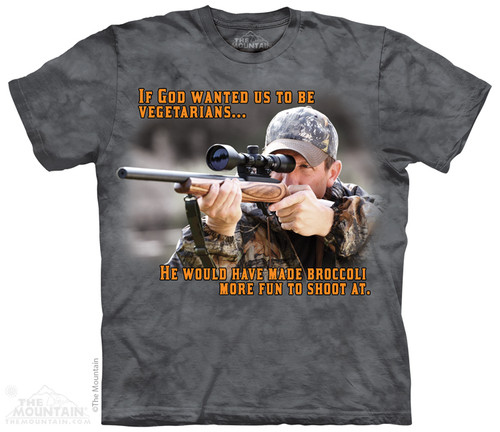 Image for The Mountain T-Shirt - Broccoli Outdoor
