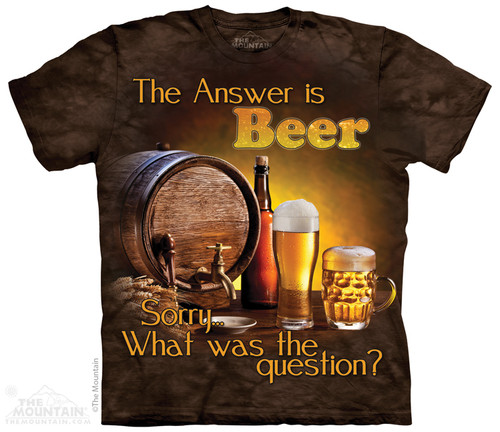 Image for The Mountain T-Shirt - Beer Outdoor