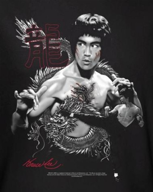Image for Bruce Lee T-Shirt - The Dragon