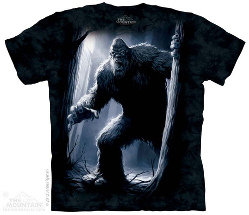 Image for The Mountain T-Shirt - Sasquatch