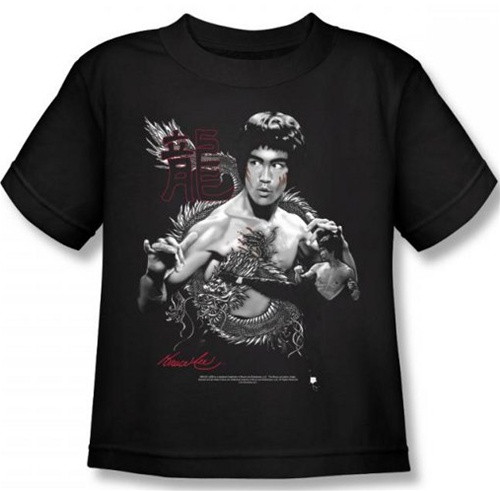 Image for Bruce Lee Kids T-Shirt - The Dragon