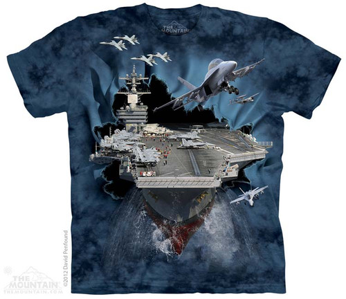 Image for The Mountain T-Shirt - Aircraft Carrier BT