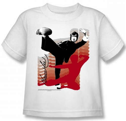 Image for Bruce Lee Kids T-Shirt - Kick It!