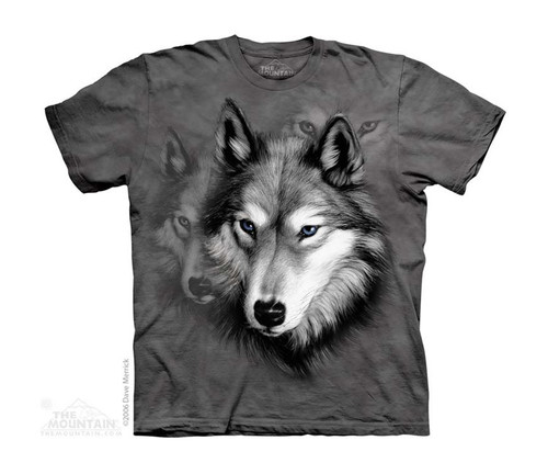 Image for The Mountain Youth T-Shirt - Wolf Portrait