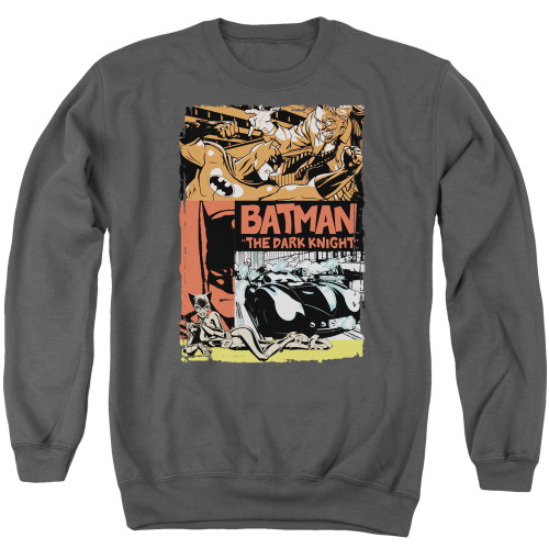 Image for Batman Crewneck - Old Movie Poster