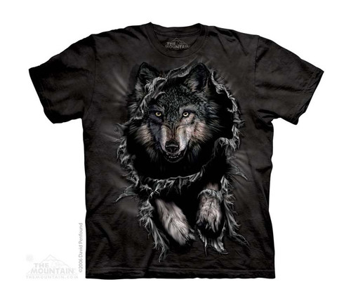 Image for The Mountain Youth T-Shirt - Break Through Wolf