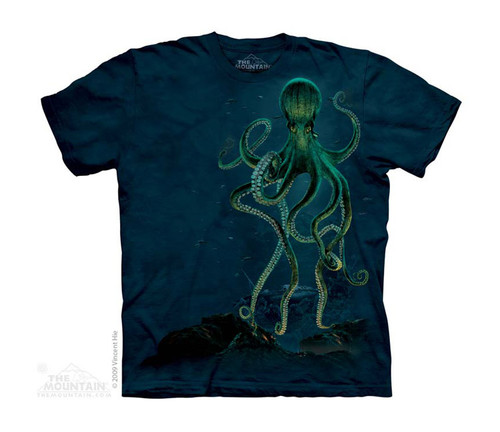 Image for The Mountain Youth T-Shirt - Octopus