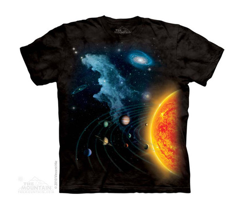 Image for The Mountain Youth T-Shirt - Solar System