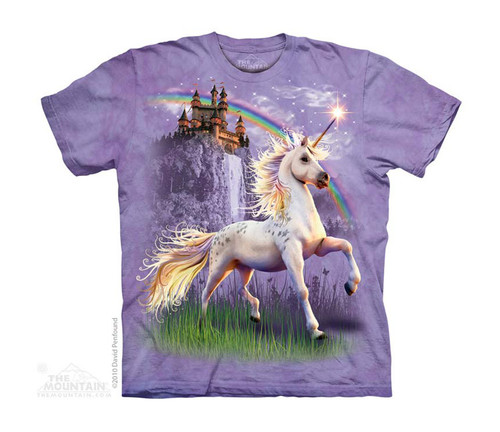 Image for The Mountain Youth T-Shirt - Unicorn Castle