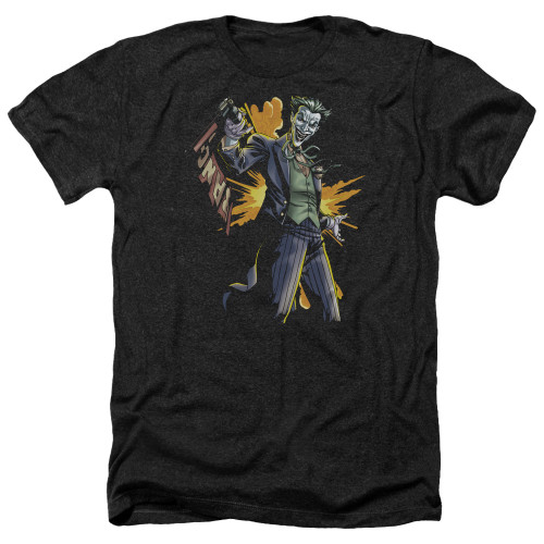 Image for Batman Heather T-Shirt - Joker Bang