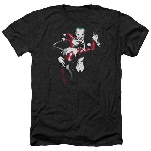 Image for Batman Heather T-Shirt - Harley and Joker