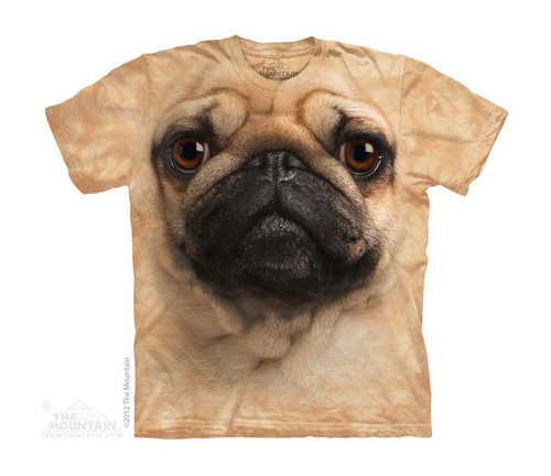Image for The Mountain Youth T-Shirt - Pug Face
