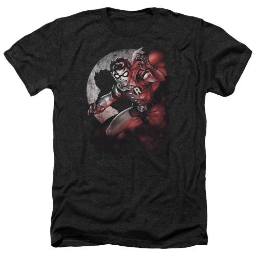 Image for Batman Heather T-Shirt - Robin Spotlight