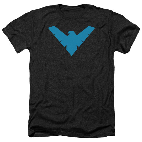 Image for Batman Heather T-Shirt - Nightwing Symbol