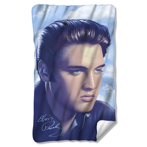 Image for Elvis Fleece Blanket - Portrait