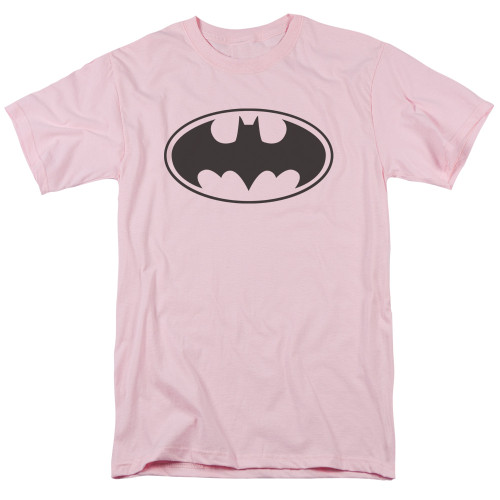 Image for Batman T-Shirt - Pink Bat Logo
