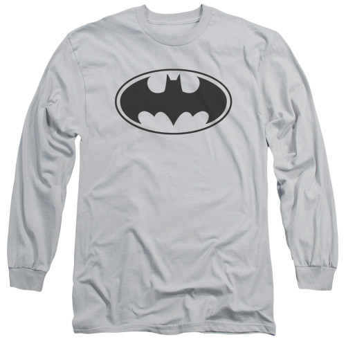 Image for Batman Long Sleeve T-Shirt - Classic Black Bat Logo