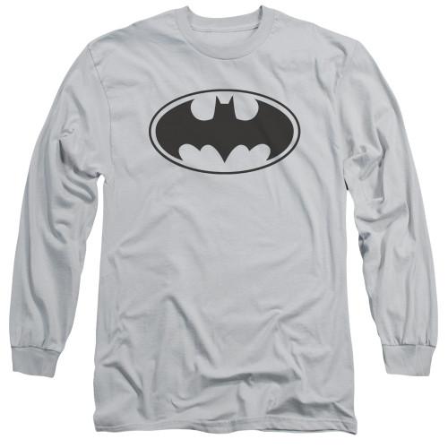 Image for Batman Long Sleeve T-Shirt - Classic Black Bat Logo