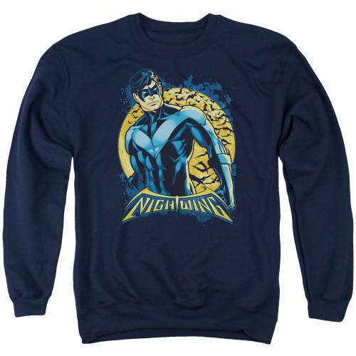Image for Batman Crewneck - Nightwing Moon