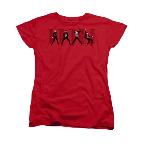 Image for Elvis Woman's T-Shirt - Jailhouse Rock