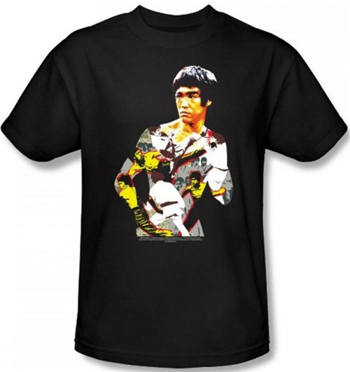 Image Closeup for Bruce Lee T-Shirt - Body of Action
