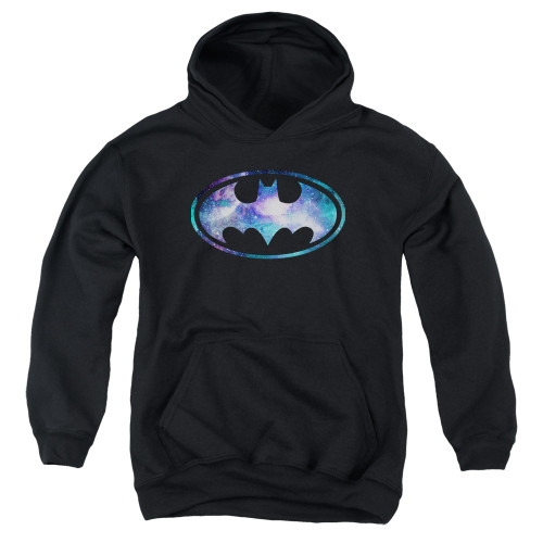 Image for Batman Youth Hoodie - Galaxy 2 Signal