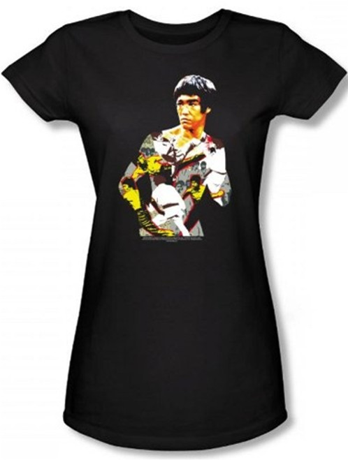Image for Bruce Lee Girls T-Shirt - Body of Action T-Shirt