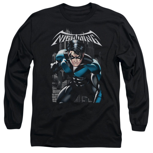 Image for Batman Long Sleeve T-Shirt - Nightwing A Legacy