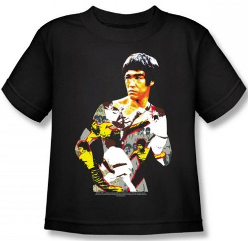 Image for Bruce Lee Kids T-Shirt - Body of Action