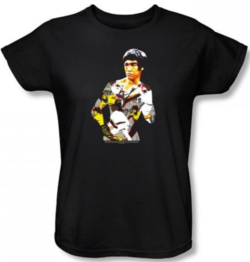 Image for Bruce Lee Womans T-Shirt - Body of Action