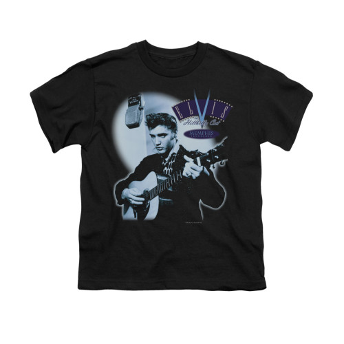 Image for Elvis Youth T-Shirt - Hillbilly Cat