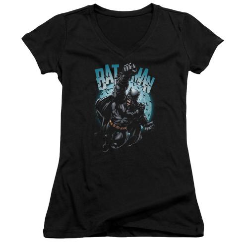 Image for Batman Girls V Neck T-Shirt - Moon Knight