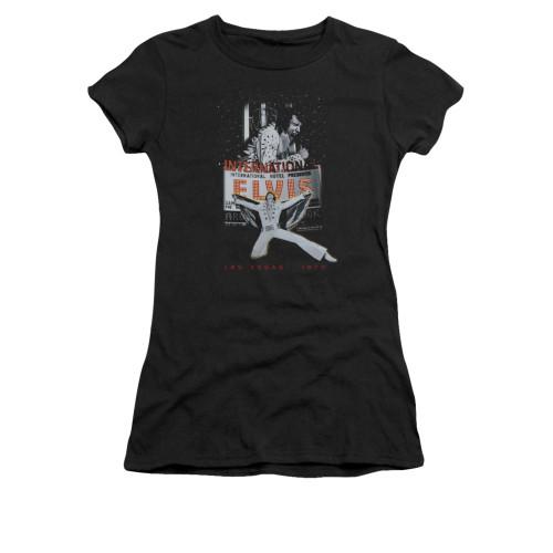 Image for Elvis Girls T-Shirt - Las Vegas