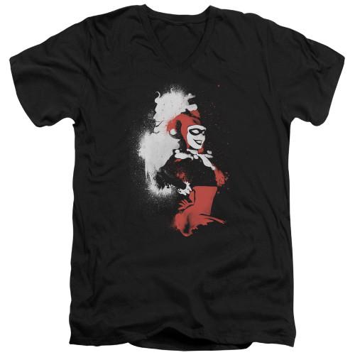Image for Batman T-Shirt - V Neck - Splattered Couple