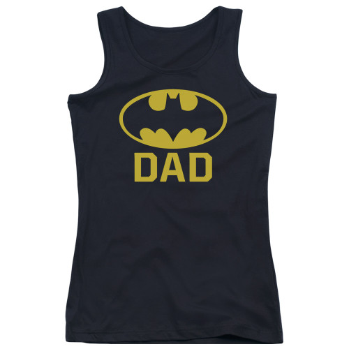 Image for Batman Girls Tank Top - Best Dad