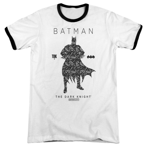 Image for Batman Ringer - Paisley Silhouette