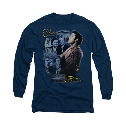 Image for Elvis Long Sleeve T-Shirt - Tupelo