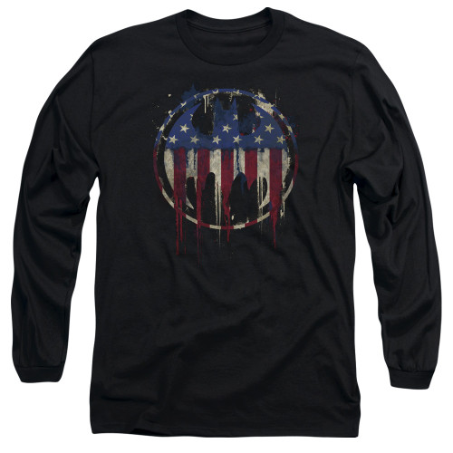 Image for Batman Long Sleeve T-Shirt - Bleeding Signal