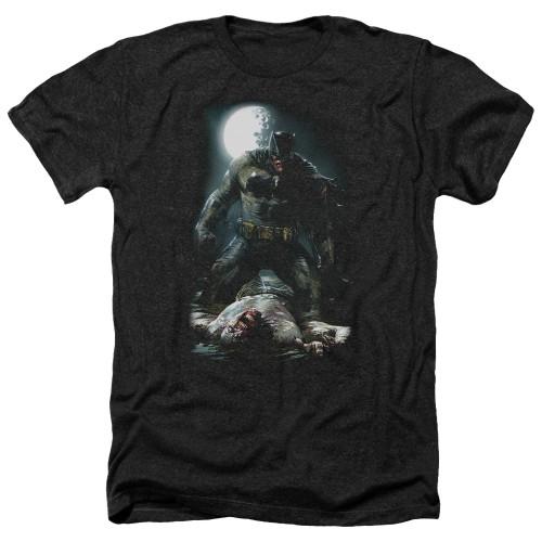 Image for Batman Heather T-Shirt - Mudhole