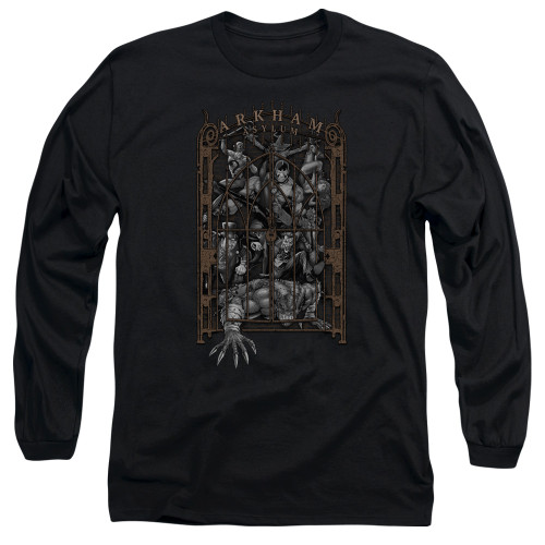 Image for Batman Long Sleeve T-Shirt - Arkhams Gate