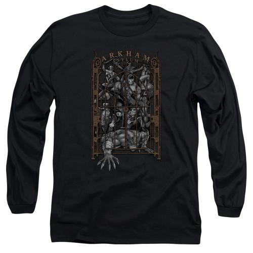 Image for Batman Long Sleeve T-Shirt - Arkhams Gate