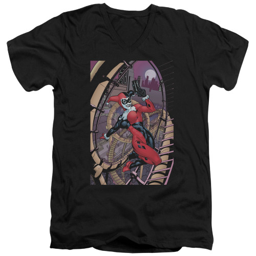 Image for Batman T-Shirt - V Neck - Harley First