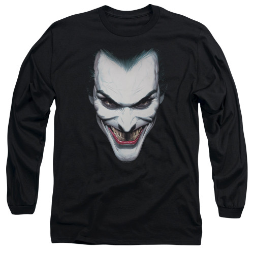 Image for Batman Long Sleeve T-Shirt - Joker Portrait