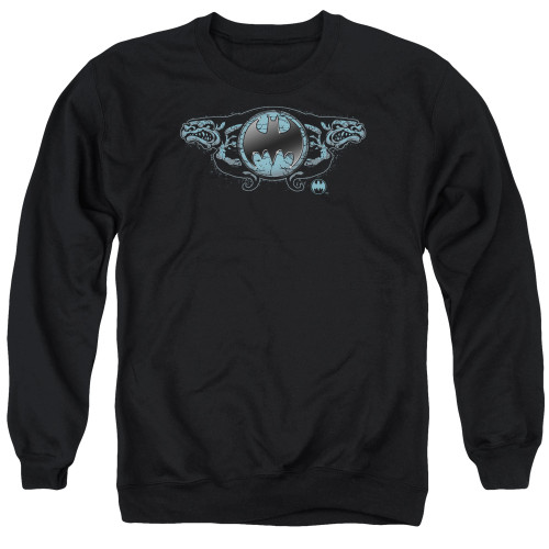 Image for Batman Crewneck - Two Gargoyles Logo