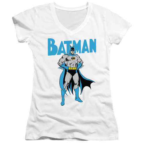 Image for Batman Girls V Neck T-Shirt - Stance