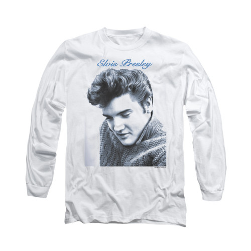 Image for Elvis Long Sleeve T-Shirt - Script Sweater