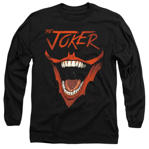 Image for Batman Long Sleeve T-Shirt - Joker Bat Laugh