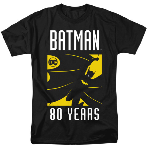 Image for Batman T-Shirt - 80 Years Silhouette