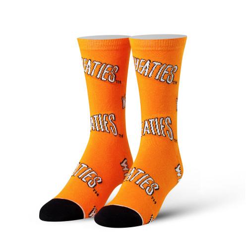 Image for Wheaties Logo Socks