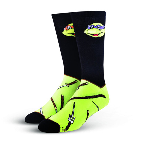 Image for Teenage Mutant Ninja Turtle Weapons Socks